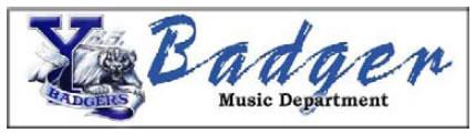 Badgers Music Department